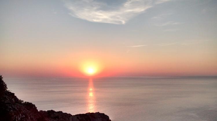 Sunset, Es Pla de Corona, Ibiza