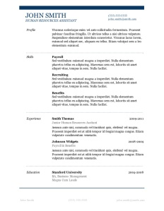 Resume_Template4