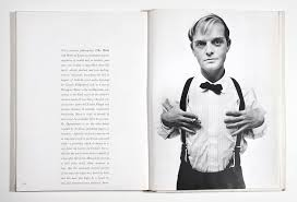 Capote photographed by Avedon